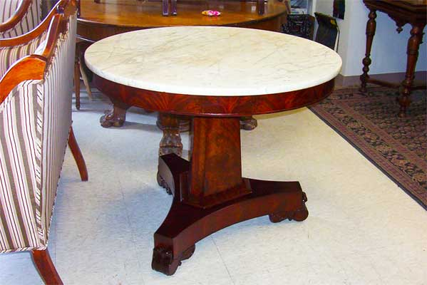 Table restored to new