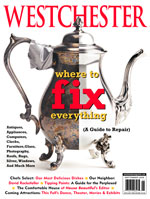 Westchester Magazine cover with story about us